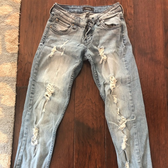 STS Blue Denim - STS blue ripped jeans